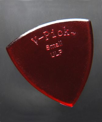 V-Picks Small Pointed Ultra Lite Ruby Red-Accessories-Brian's Guitars