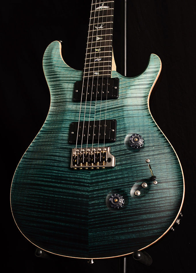 Paul Reed Smith Wood Library Custom 24-08 Satin Brian's Limited Teal Fade