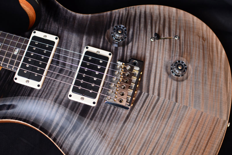 Used Paul Reed Smith Custom 24 Gray Black Fade-Brian's Guitars
