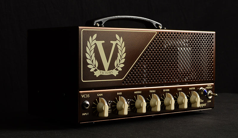 Used Victory VC 35 The Copper and V112-VB-Gold-Amplification-Brian's Guitars