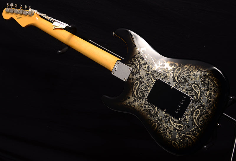 Fender Limited Edition Black Paisley Stratocaster-Electric Guitars-Brian's Guitars