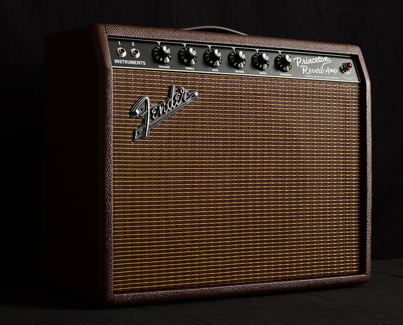 Fender Limited Edition '65 Princeton Reverb British Sable-Brian's Guitars