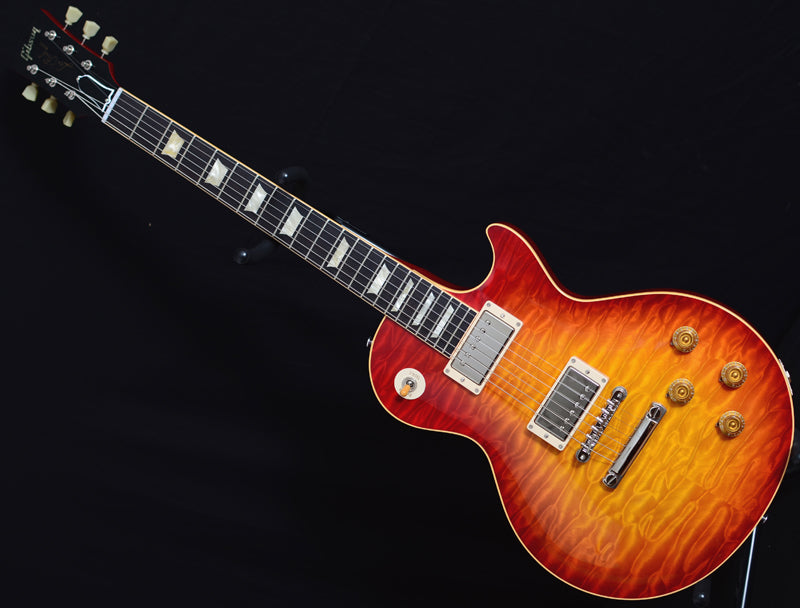 2011 Gibson Custom Shop Les Paul 1959 Reissue R9 7A Quilt Top Washed Cherry