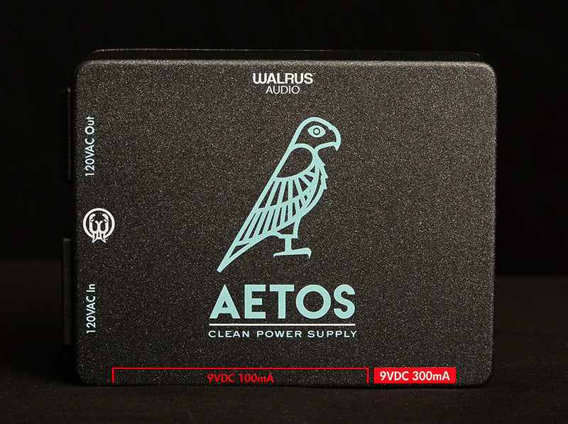 Walrus Aetos 120-Volt 8 Output Power Supply-Effects Pedals-Brian's Guitars
