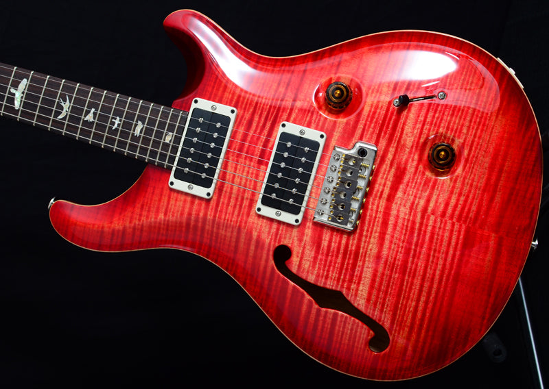 Used Paul Reed Smith Custom 24 Semi-Hollow Blood Orange-Brian's Guitars