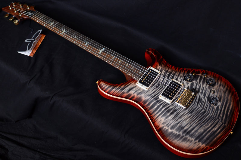 Paul Reed Smith Wood Library P24 Trem Brian's Limited Charcoal Cherry-Brian's Guitars