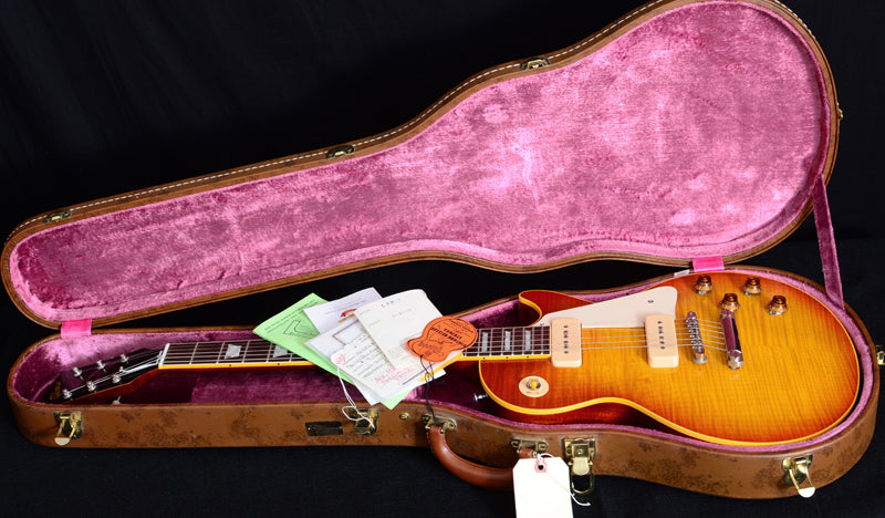 2000 Gibson Custom Shop 1956 Reissue Les Paul R6 Washed Cherry-Brian's Guitars