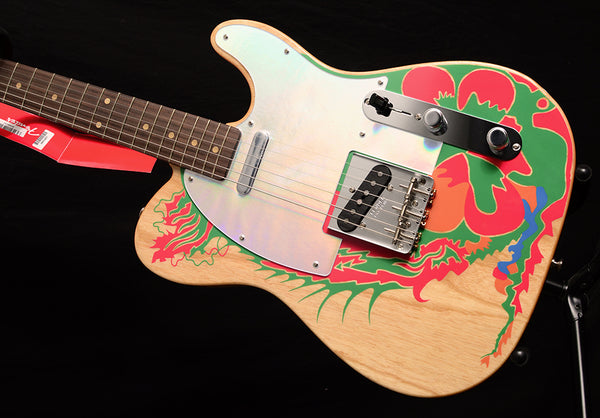 Fender Jimmy Page Telecaster Natural With Artwork