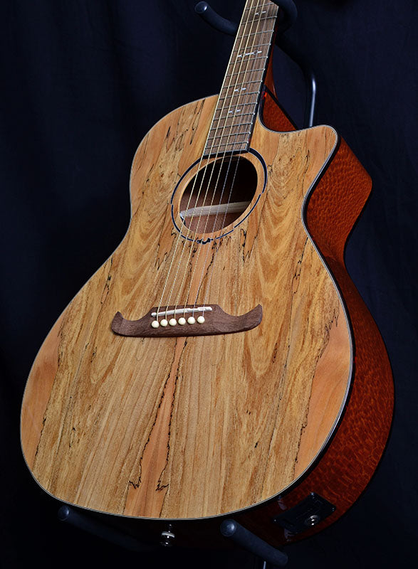 Fender FA-345CE Auditorium Spalted Maple Top Limited Run