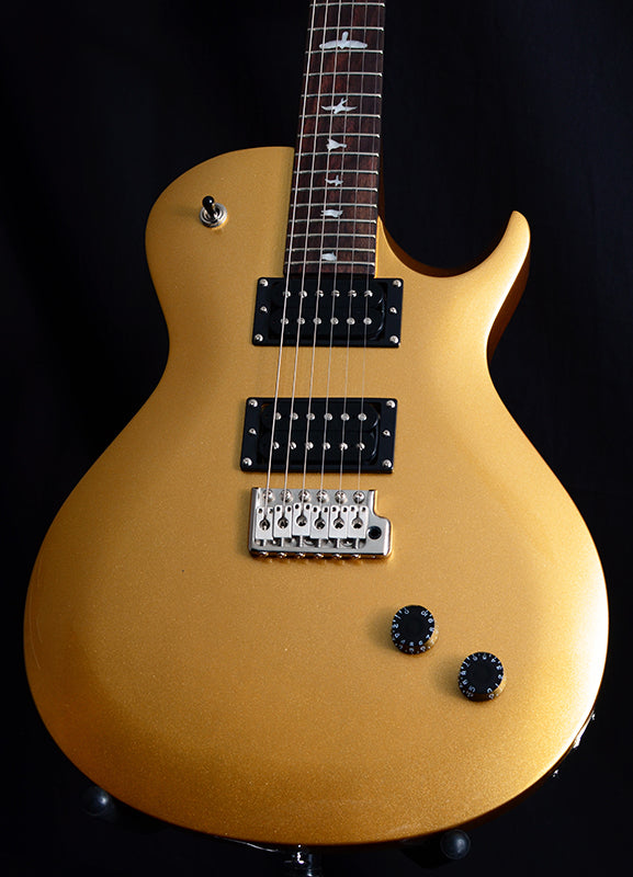 Paul Reed Smith SE Santana Singlecut Trem Egyptian Gold-Electric Guitars-Brian's Guitars