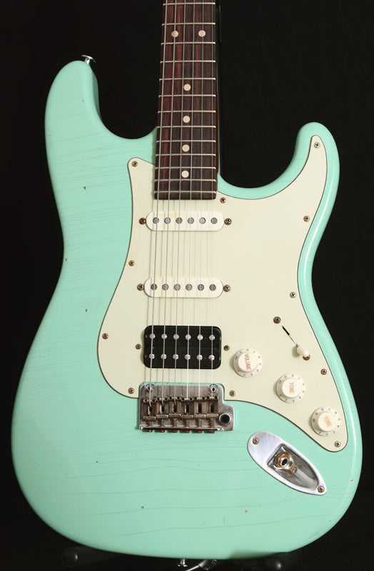 Used Suhr Classic Antique HSS Surf Green-Brian's Guitars
