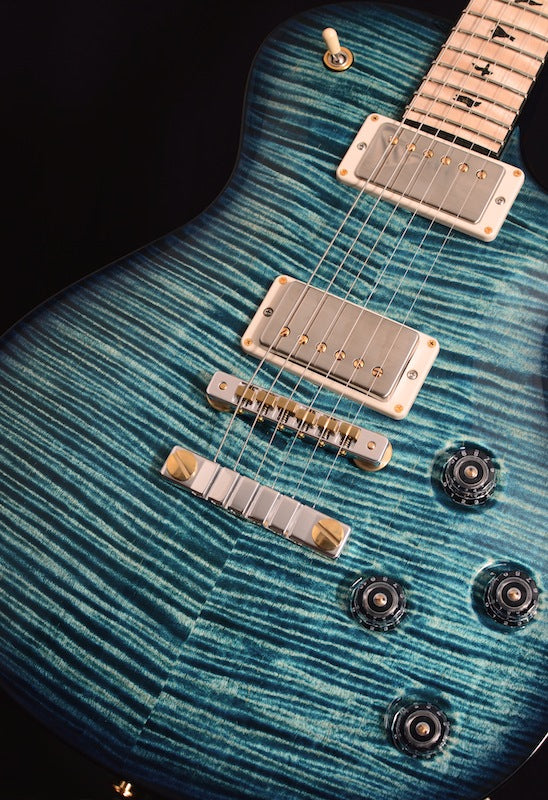 Paul Reed Smith Private Stock McCarty Singlecut Blue Steel Smoked Burst