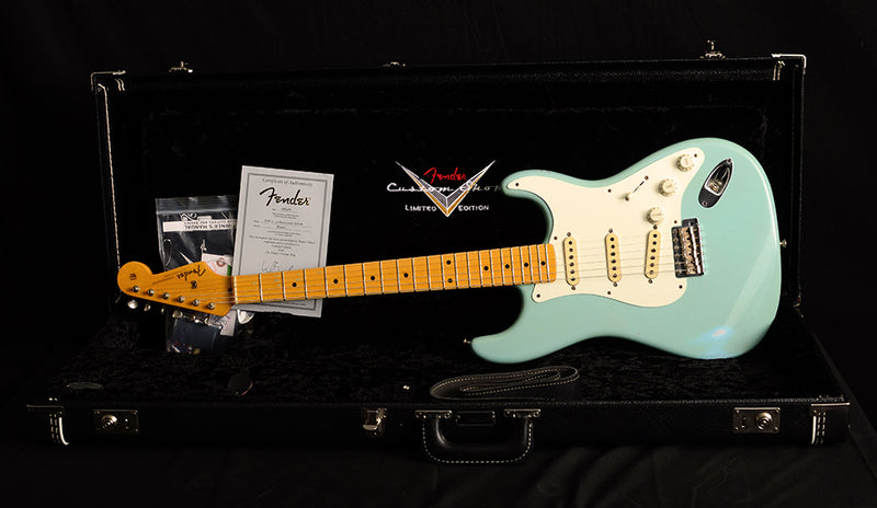 Used Fender Custom Shop 1957 Relic Stratocaster WW10 Daphne-Brian's Guitars