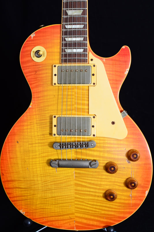 Used Nash NGLP 60's Les Paul Conversion Cherry Sunburst-Brian's Guitars