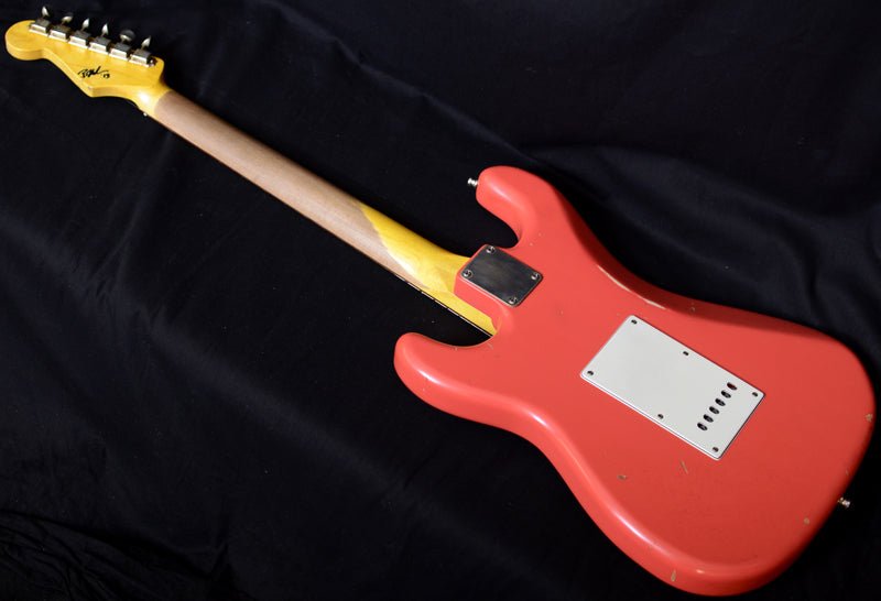 Used Nash S-63 Fiesta Red-Brian's Guitars