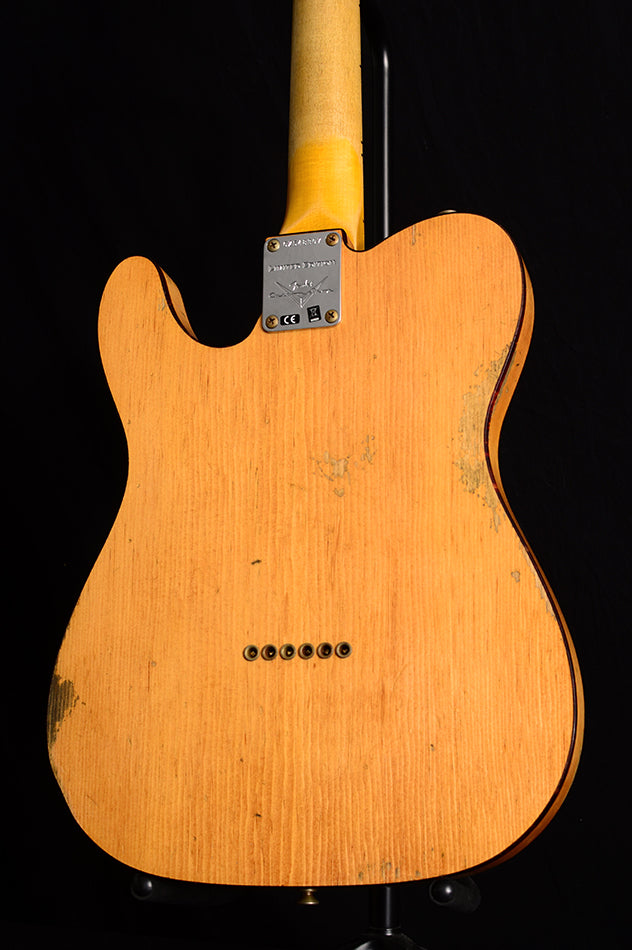 Fender Custom Shop Knotty Pine Cunife Telecaster Relic Limited Edition-Electric Guitars-Brian's Guitars