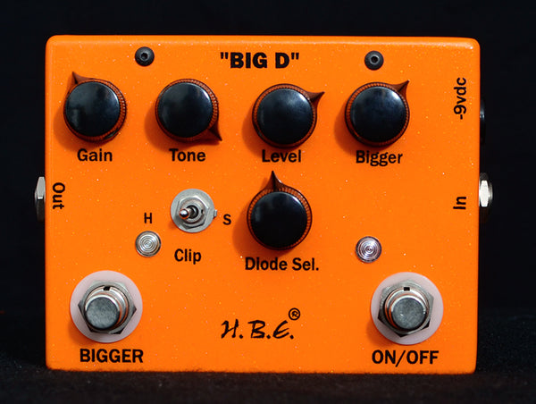 HomeBrew Big D Overdrive/Distortion-Effects Pedals-Brian's Guitars