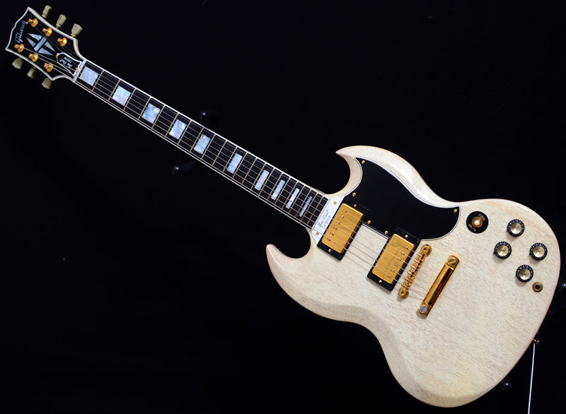 Used 2003 Gibson Custom Shop SG Custom Stinger TV White-Brian's Guitars