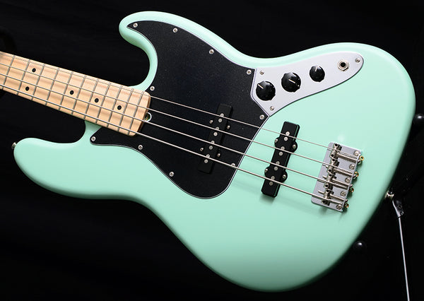 Fender American Performer Jazz Bass Satin Surf Green-Electric Guitars-Brian's Guitars