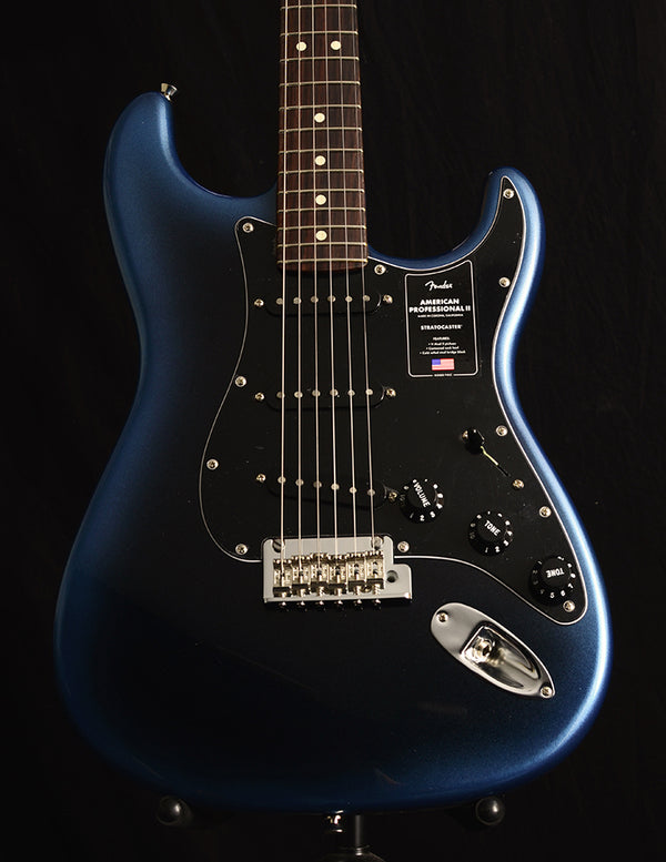 Fender American Professional II Stratocaster Dark Night-Electric Guitars-Brian's Guitars