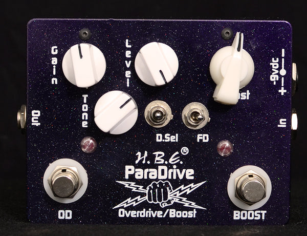 HomeBrew Paradrive Overdrive Boost-Effects Pedals-Brian's Guitars