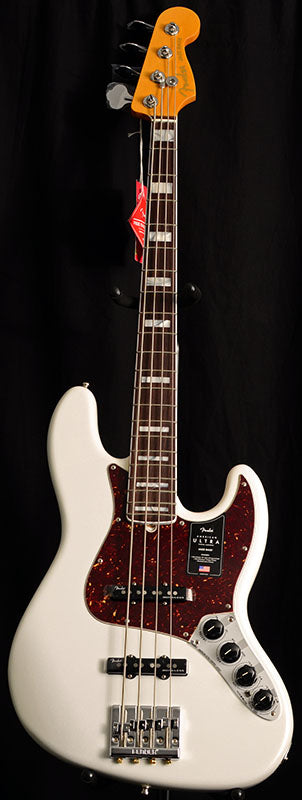 Fender American Ultra Jazz Bass Arctic Pearl