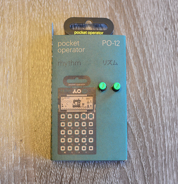 Teenage Engineering Pocket Operators PO-12 Rhythm-Effects Pedals-Brian's Guitars