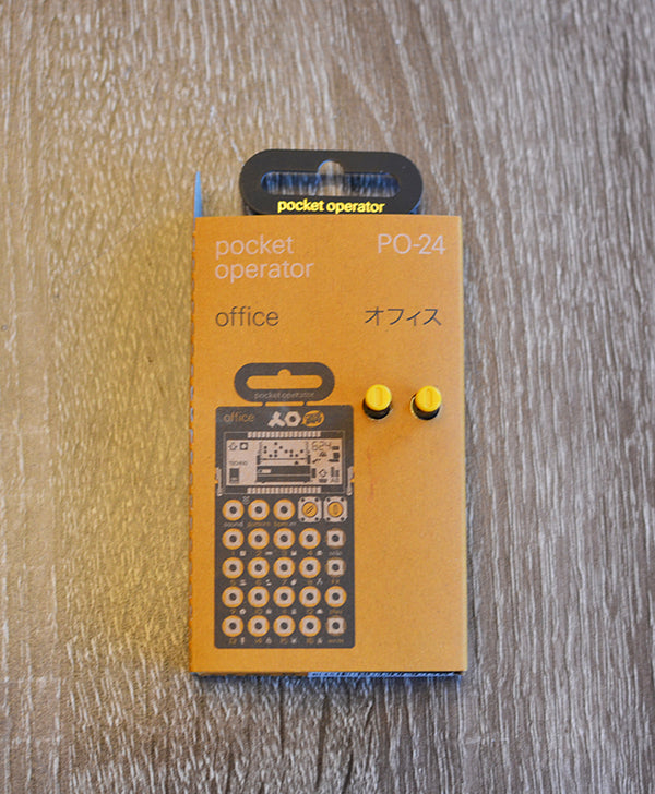Teenage Engineering Pocket Operators PO-24 Office-Effects Pedals-Brian's Guitars