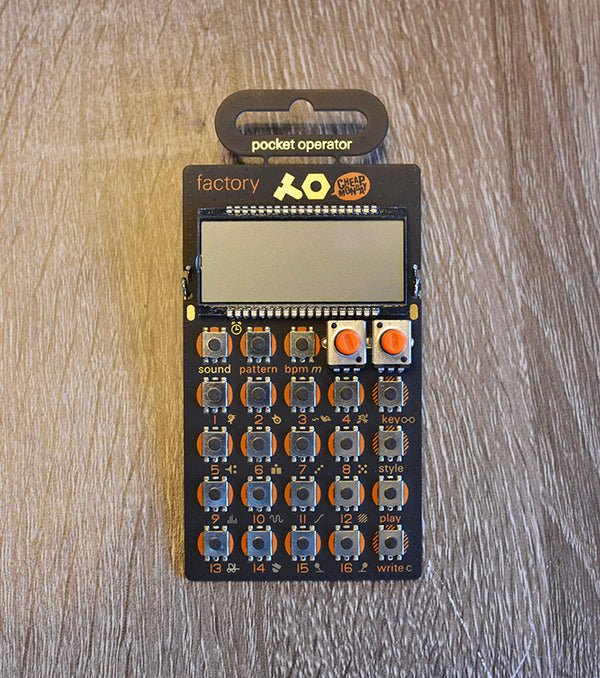 Teenage Engineering Pocket Operators PO-16 Factory-Effects Pedals-Brian's Guitars