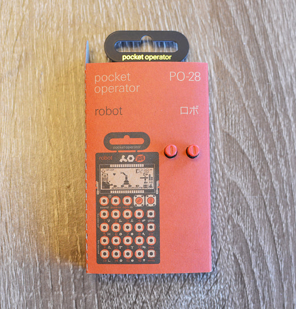 Teenage Engineering Pocket Operators PO-28 Robot-Effects Pedals-Brian's Guitars