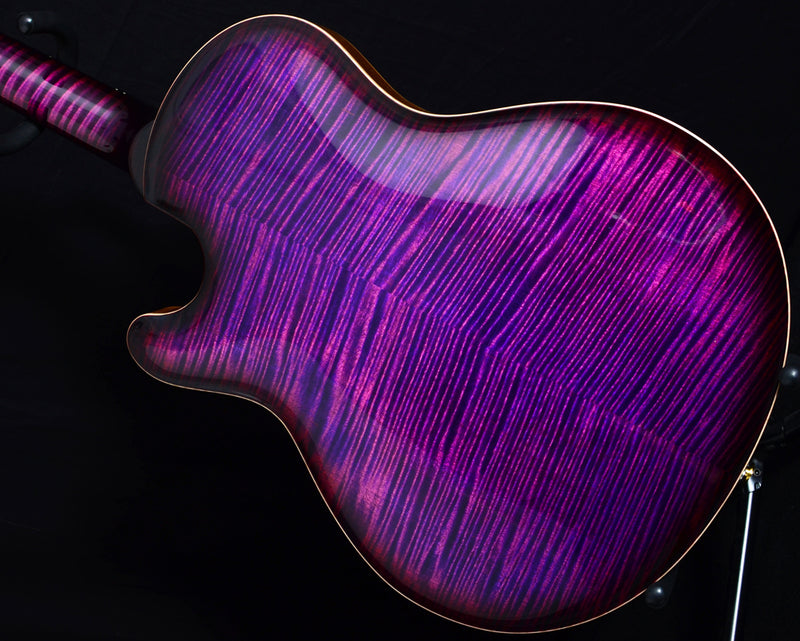 Paul Reed Smith Private Stock Singlecut Archtop Fuschia Smoked Burst-Brian's Guitars