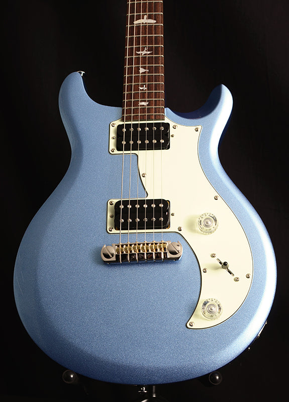 Paul Reed Smith SE Mira Frost Blue Metallic-Electric Guitars-Brian's Guitars