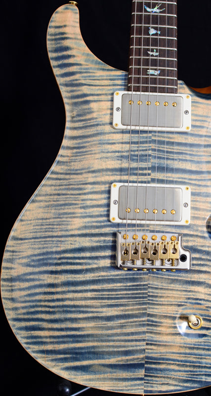 Used Paul Reed Smith Wood Library DGT Faded Blue Jean-Brian's Guitars