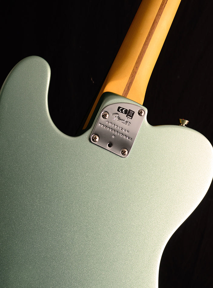 Fender American Professional II Telecaster Mystic Surf Green