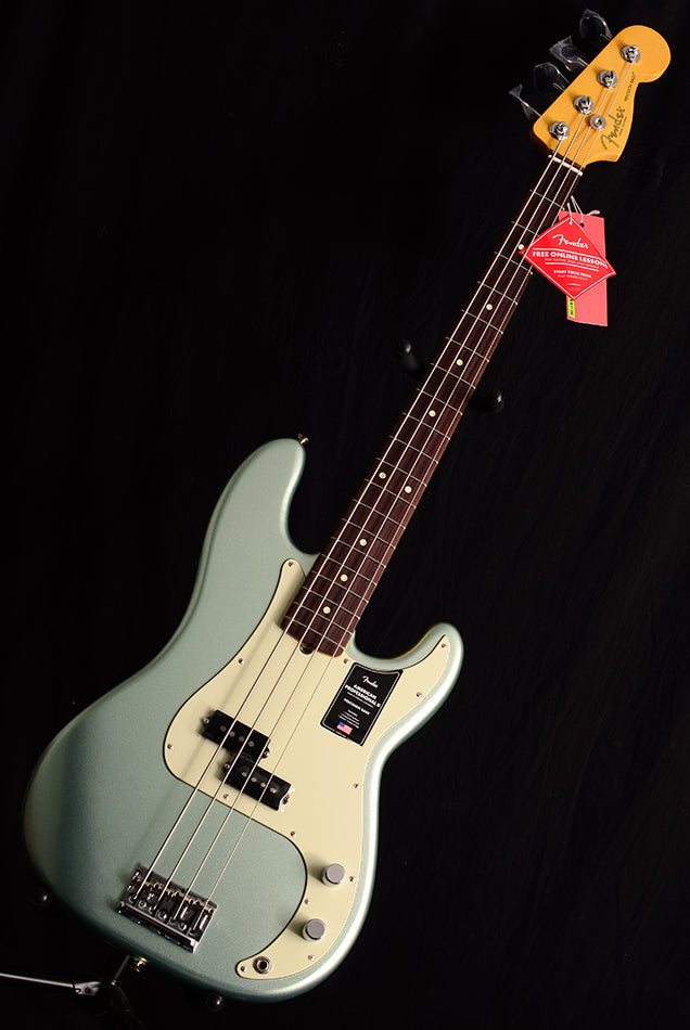 Fender American Professional II Precision Bass Mystic Surf Green