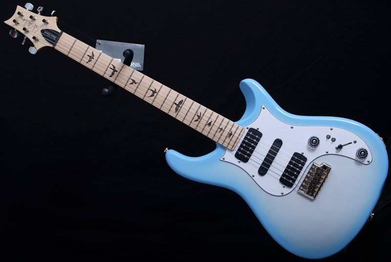 Paul Reed Smith Brent Mason White Wash Blue Burst-Brian's Guitars