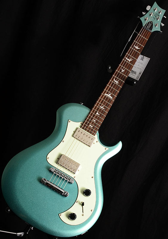 Paul Reed Smith SE Starla Stoptail Metallic Green-Electric Guitars-Brian's Guitars
