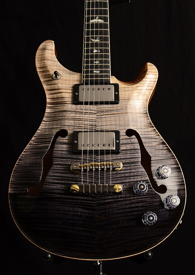 Paul Reed Smith Wood Library McCarty 594 Hollowbody II Brian's Limited Gray Black Fade