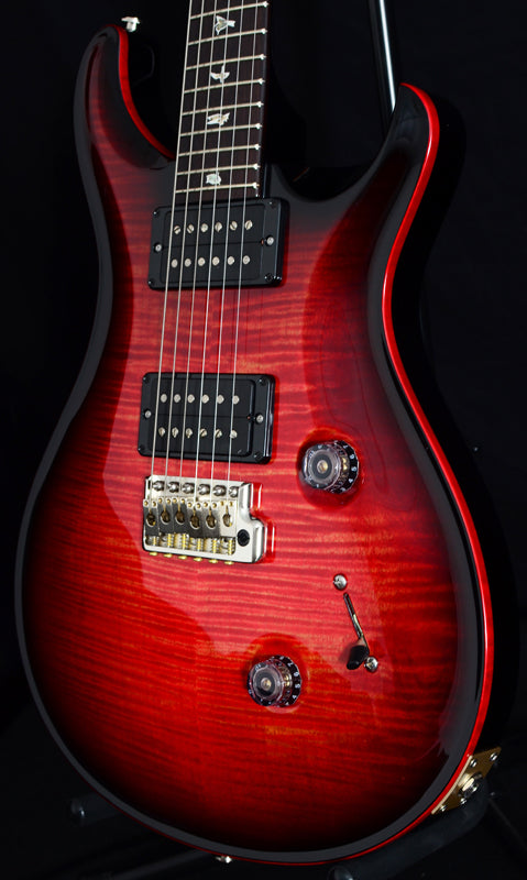 Paul Reed Smith Custom 24 Blood Orange Smokeburst-Brian's Guitars