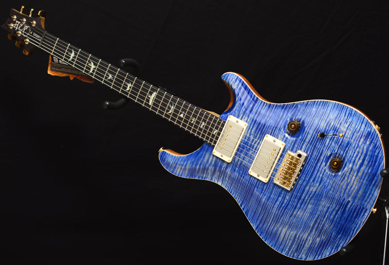Paul Reed Smith Wood Library Custom 24 Brian's Limited Faded Blue Jean-Brian's Guitars