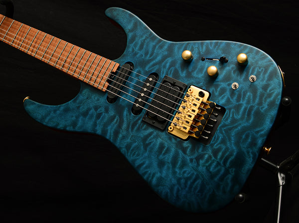 Used Jackson USA Signature Phil Collen PC1 Satin Trans Blue