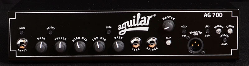 Aguilar AG700-Amplification-Brian's Guitars