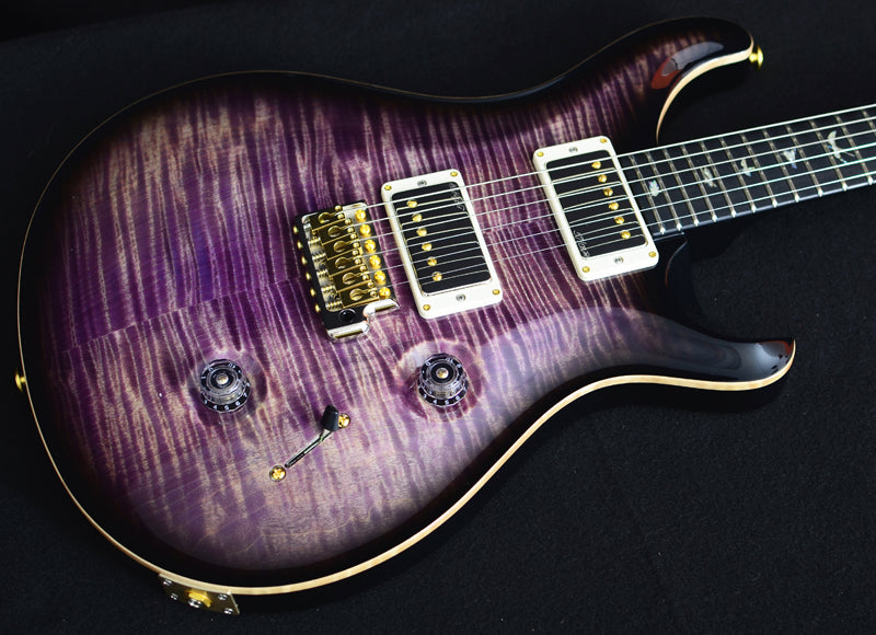 Paul Reed Smith Wood Library Custom 24 Brian's Limited Faded Purple Smokeburst-Brian's Guitars