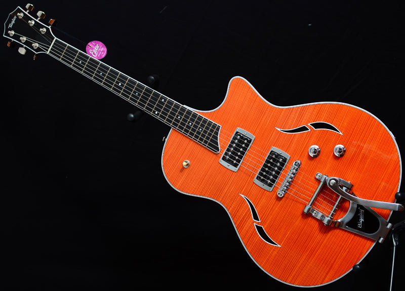 Taylor T3 Bigsby Trans Orange-Brian's Guitars