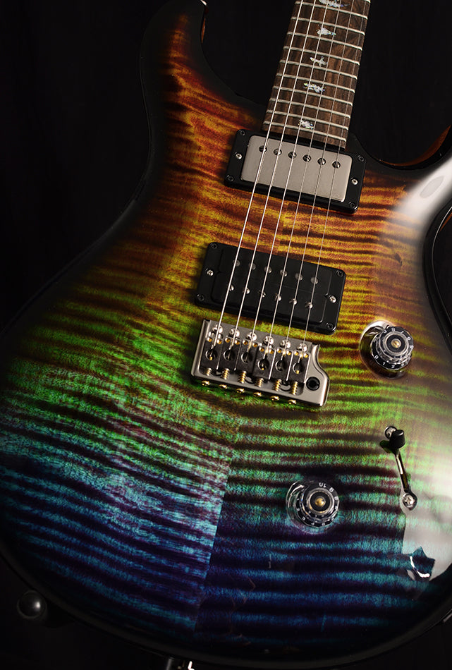 Paul Reed Smith Wood Library Artist Custom 24 Brian's Guitars 10th Anniversary Limited Zombie Fade Smokeburst