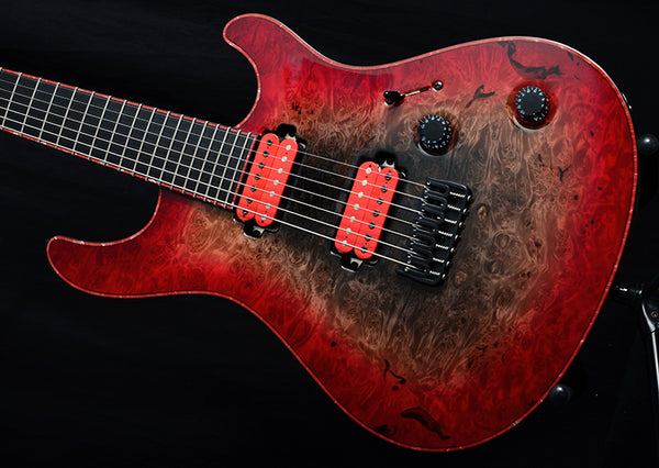 Mayones NAMM 2019 Regius 7 Supernova Red-Electric Guitars-Brian's Guitars