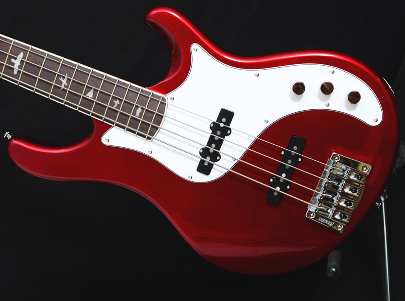 Paul Reed Smith SE Kestrel Bass Red Metallic-Brian's Guitars
