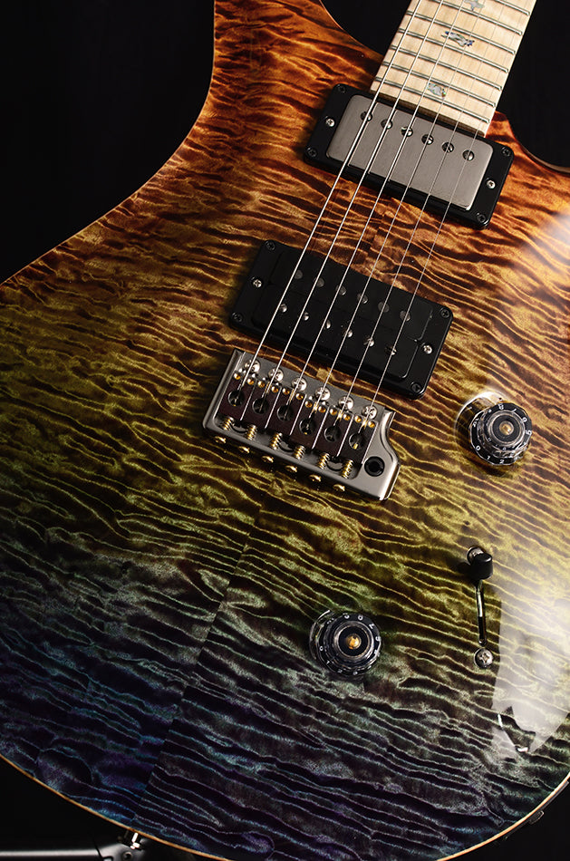 Paul Reed Smith Wood Library Artist Custom 24 Brian's Guitars 10th Anniversary Limited Zombie Fade