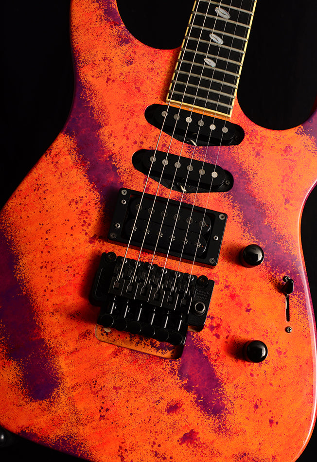 Used Caparison Tat II Red Sunset