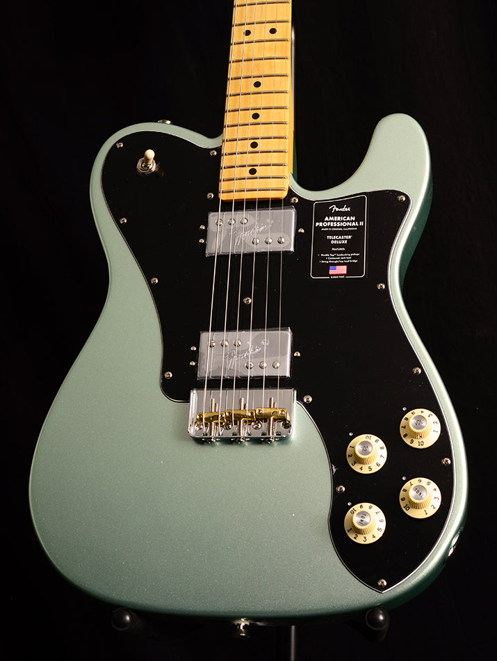 Used Fender American Professional II Telecaster Deluxe Mystic Surf Green